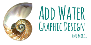 Add Water Graphic Design